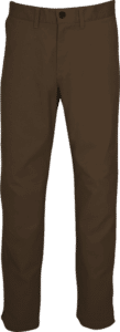 "STOCK - MENS ""CLASSIC ORIGINALS"" FLAT FRONT CHINOS - OAK"