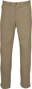 "STOCK - MENS ""CLASSIC ORIGINALS"" FLAT FRONT CHINOS - STONE"
